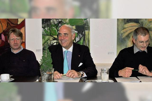 Gundolf Fleischer ist Präsident des Trägervereins