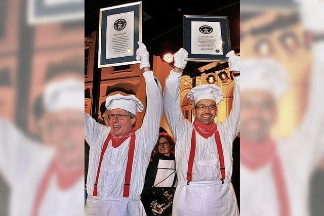 Weltrekord für die Bäcker aus Oppenau
