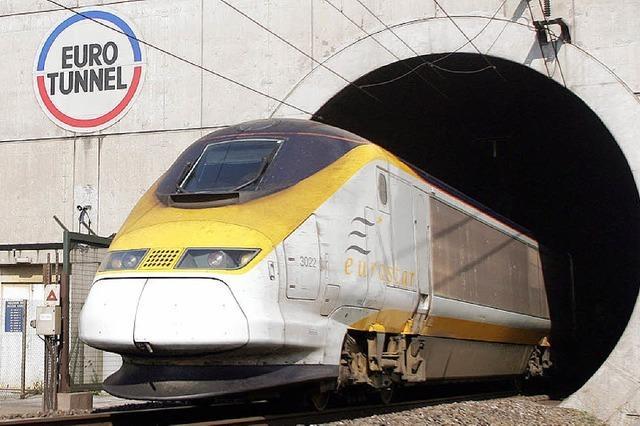 Dem Zug war's im Tunnel zu warm