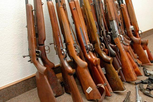 FDP will längere Amnestie für Waffenabgabe