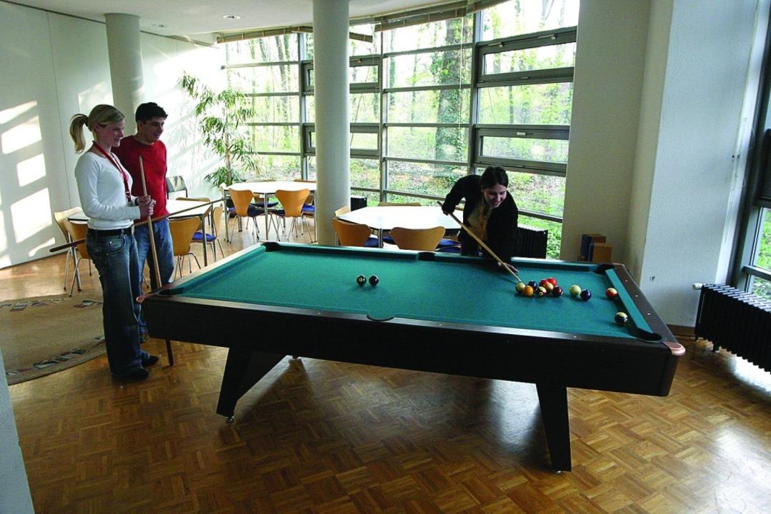 Das Wohnheim bietet auch viele Freizeitangebote.  | Foto: Angell