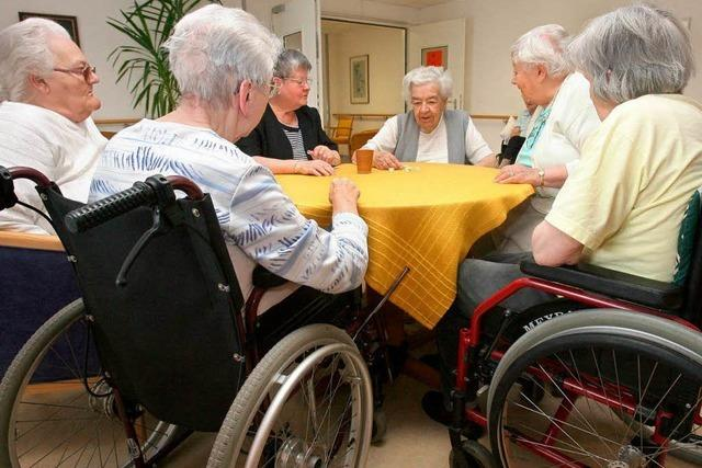 Pflegeheime im Südwesten erreichen Bestnoten