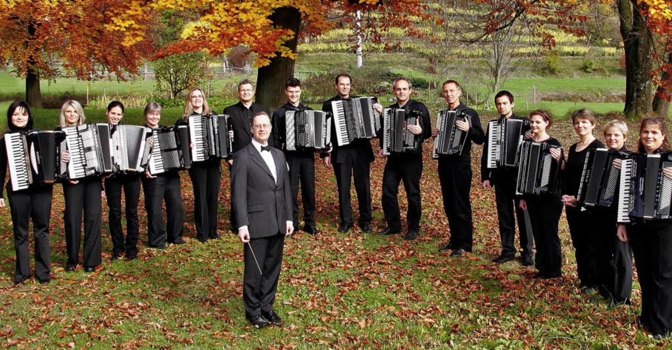 Ein Spitzenensemble: der Erste Freiburger Akkordeon-Club  | Foto: PRO