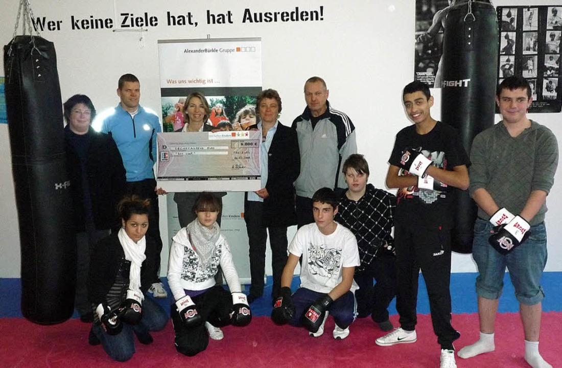 Das Projekt Cool Box hat 6000 Euro von...r Alexander-Bürkle-Stiftung, erhalten.    Foto: Privat