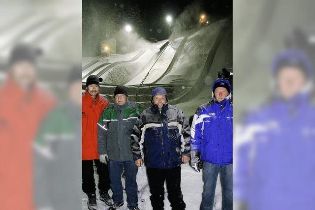 Die Schneemacher vom Adlerwald