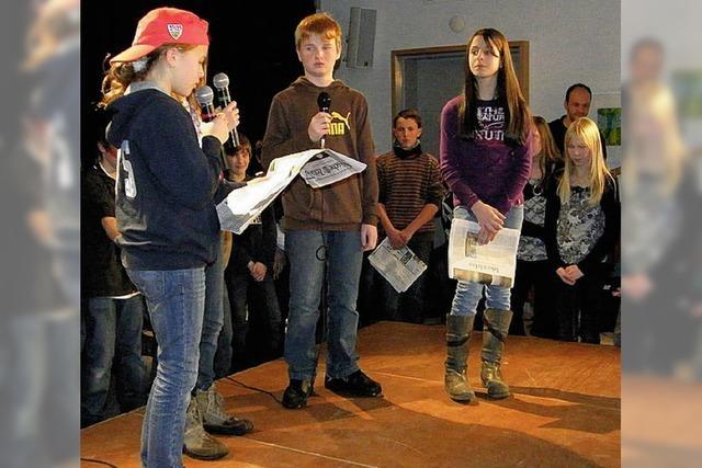 Schüler zeigen Zivilcourage