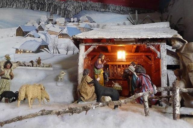 In den Kirchen steht der Stall