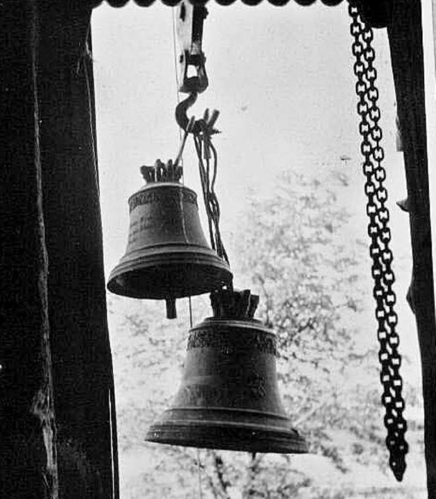 Am Haken: 1942 wurden die Glocken beschlagnahmt.    | Foto: privat