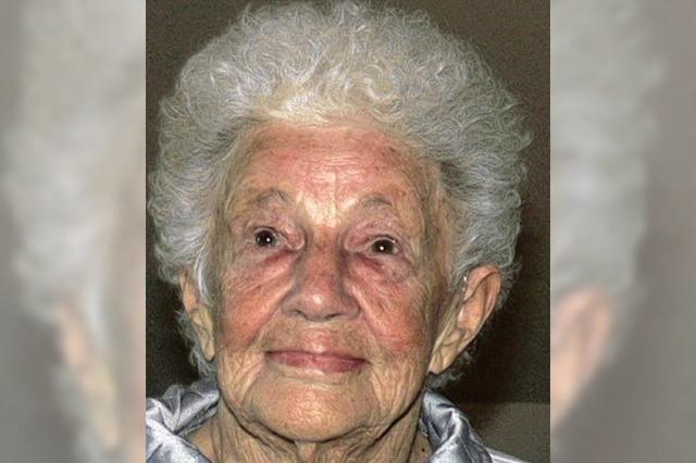 Josefa Stober wird am Samstag 90 Jahre alt