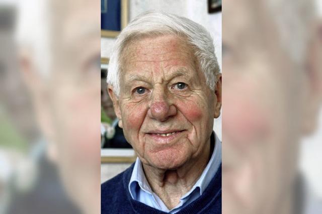 Rolf Haberer: Ein Ur-Offenburger aus der Schlossergasse