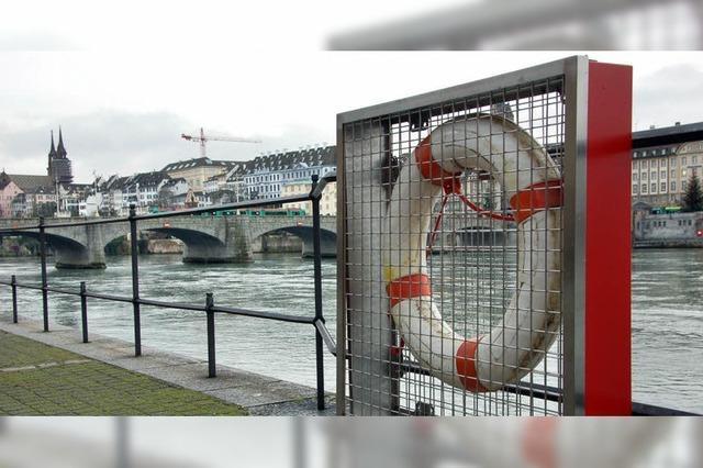 Neue Verpackung am Rhein
