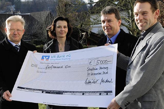 5000 Euro für die Bürgerstiftung