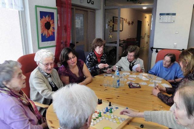Viel Spaß beim Spiel im Altenheim