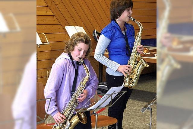 Der Nachwuchs am Instrument