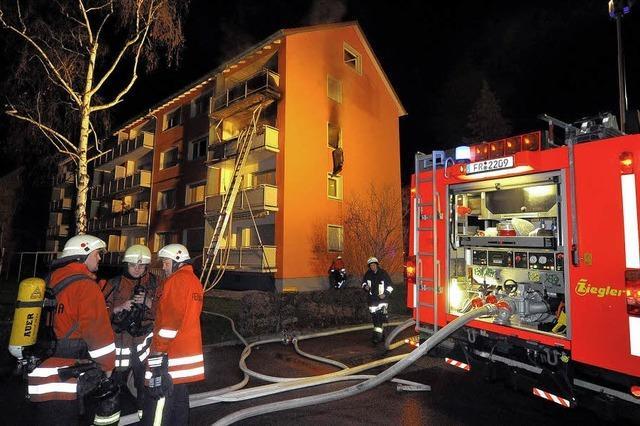 Ehepaar bei Brand verletzt