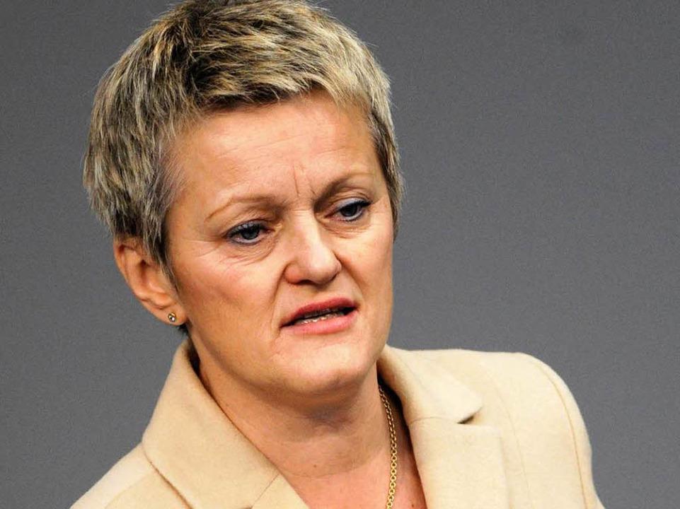Renate Künast könnte sich 2011 als grüne Regierungschefin bewerben.  | Foto: dpa
