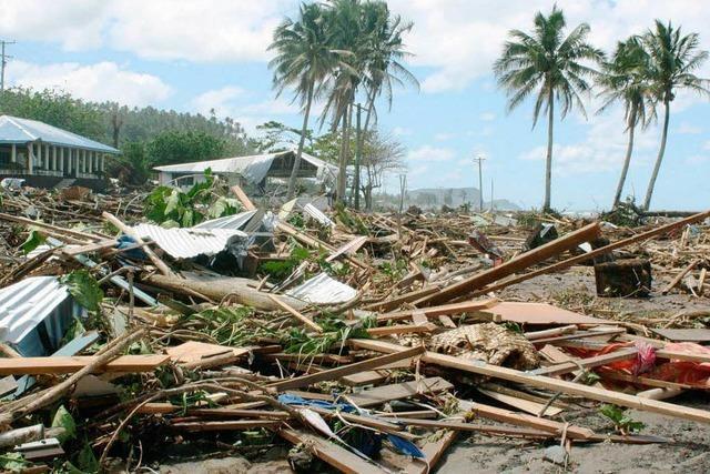 Über die Tsunami-Katastrophe legt sich der Mantel des Vergessens