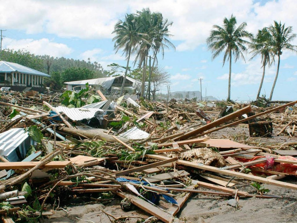 Flukatastrophe in Südasien 2004.    Foto: dpa