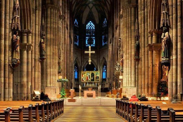 Freiburger Münster strahlt in neuem Licht