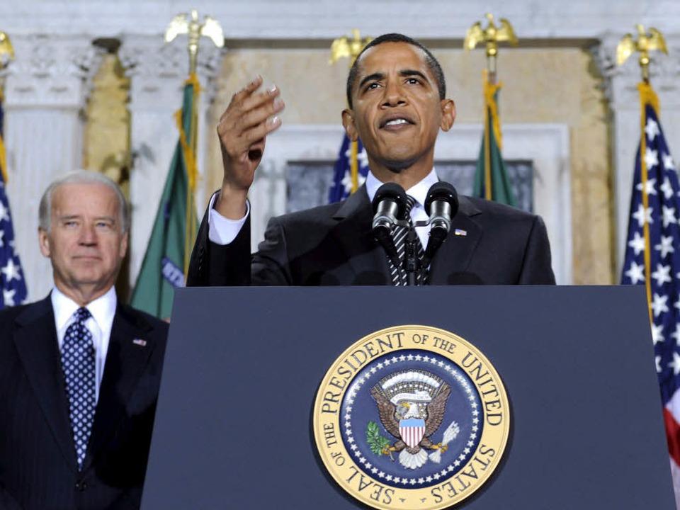Der US-Senat hat Barack Obamas Gesundheitsreform zugestimmt.  | Foto: dpa