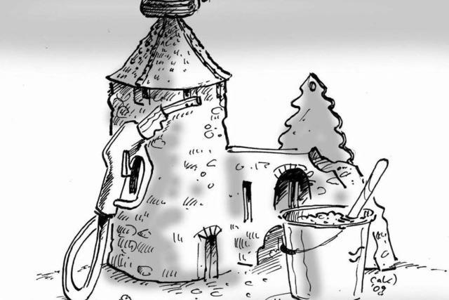 Lahr 2009 in Karikaturen