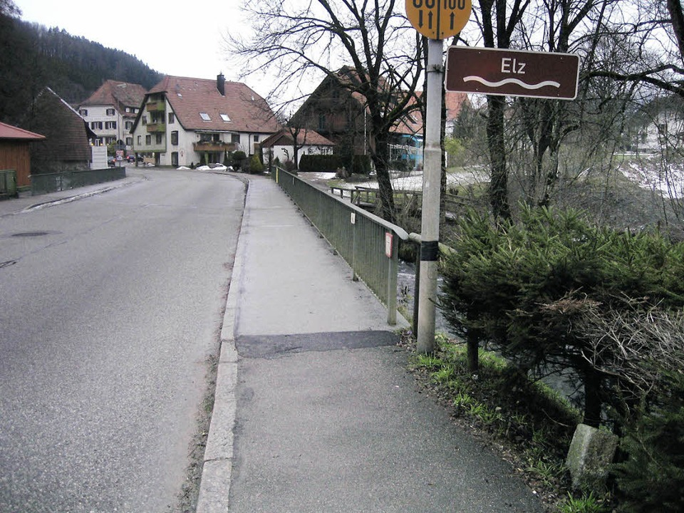 Hier an der Elz bestand früher nicht n...fürstenbergischen Kondominat Prechatl.    Foto: Thomas Steimer