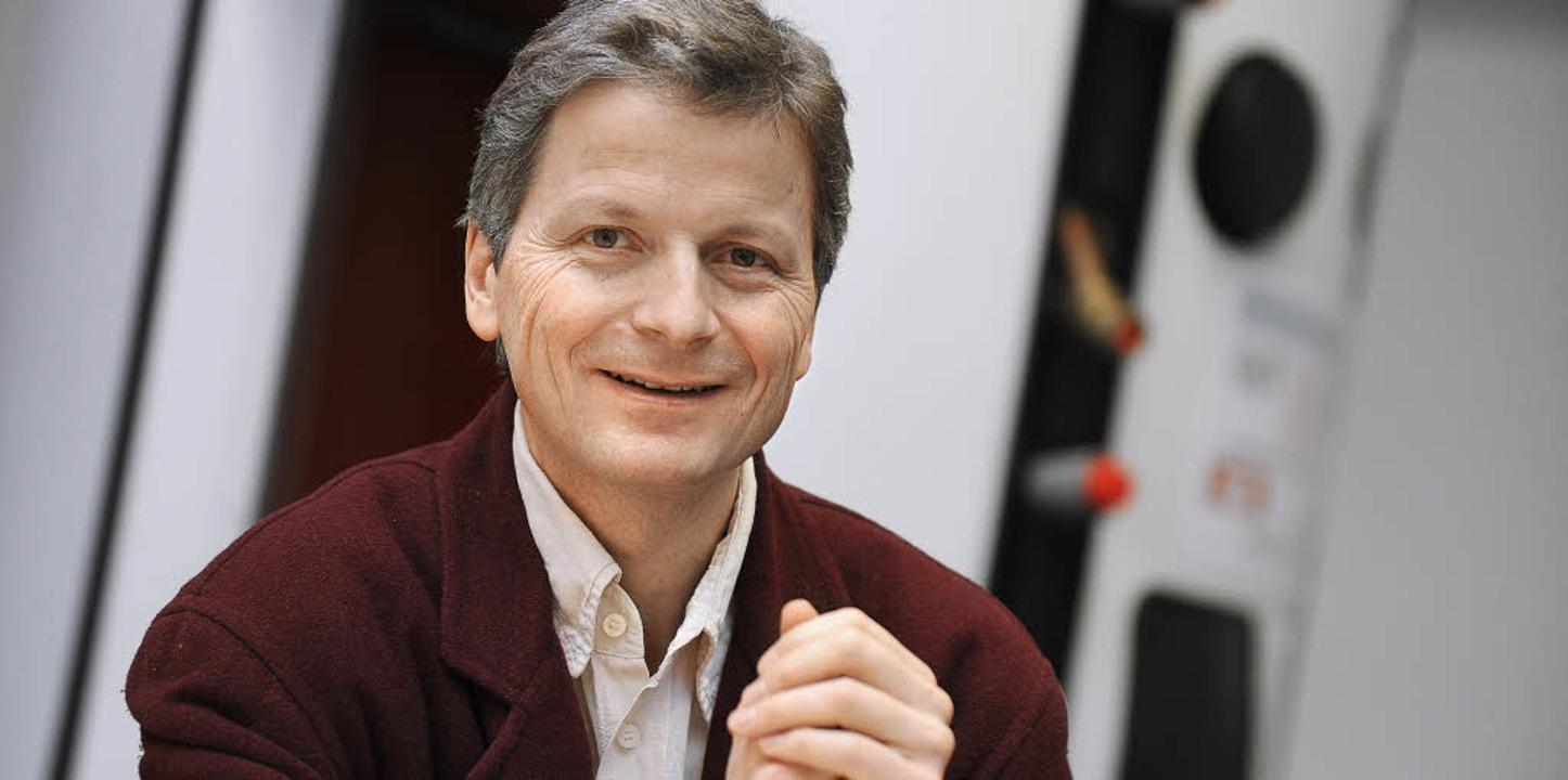 Seine Vision scheint Wirklichkeit zu w... Geschäftsführer der Firma  Consolar    | Foto: Juri Junkov