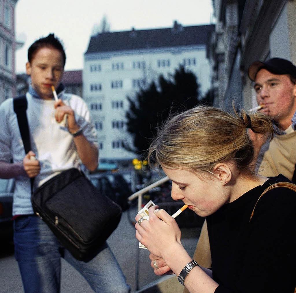 Hamburg Rauchen