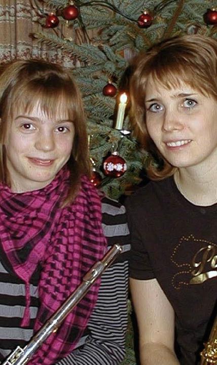 Melanie und Julia  | Foto: Wolfgang Adam