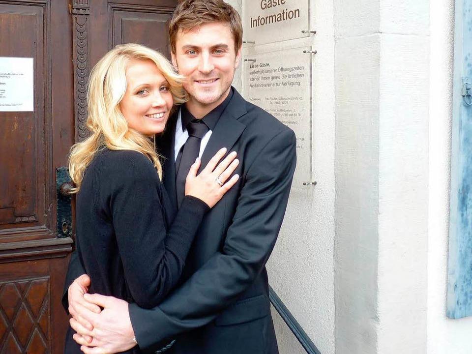 Frisch vermählt: Maren und Heiko Butscher.  | Foto: privat