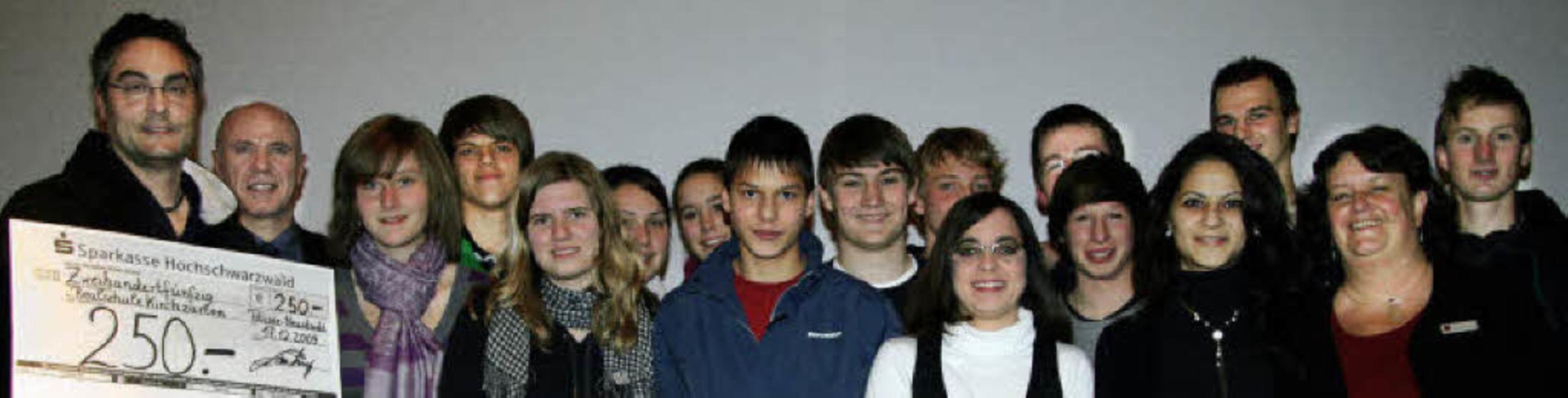 Gute Rendite haben diese Schüler in ih... Hans-Thoma-Schule Titisee-Neustadt.    | Foto: eva korinth