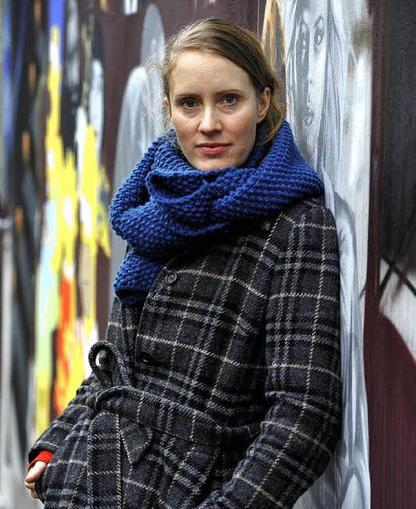 Nicola Schößler lebt in Berlin, ist in Freiburg zu Gast     Foto: Thomas Kunz