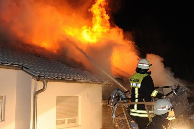 Mann stirbt bei Brand in Hechingen