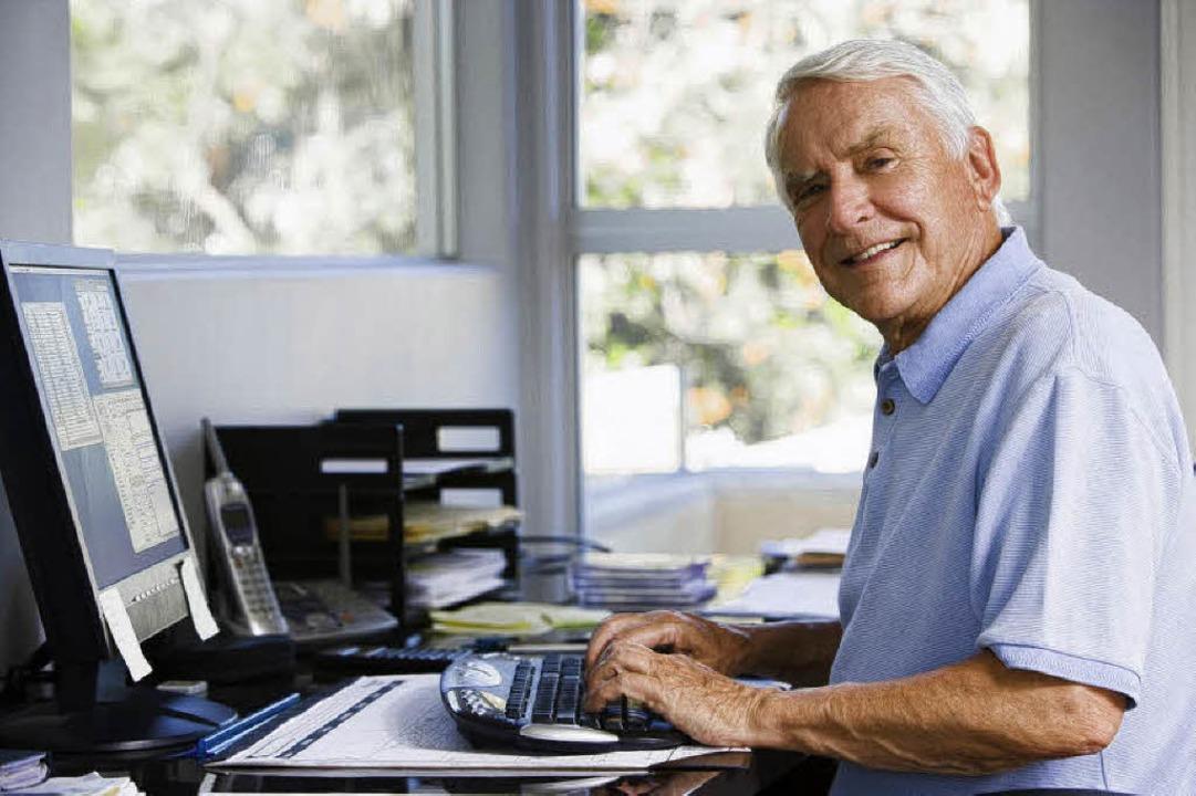 Senioren interessieren sich zunehmend ...und Informationsmöglichkeiten bieten.     Foto: privat