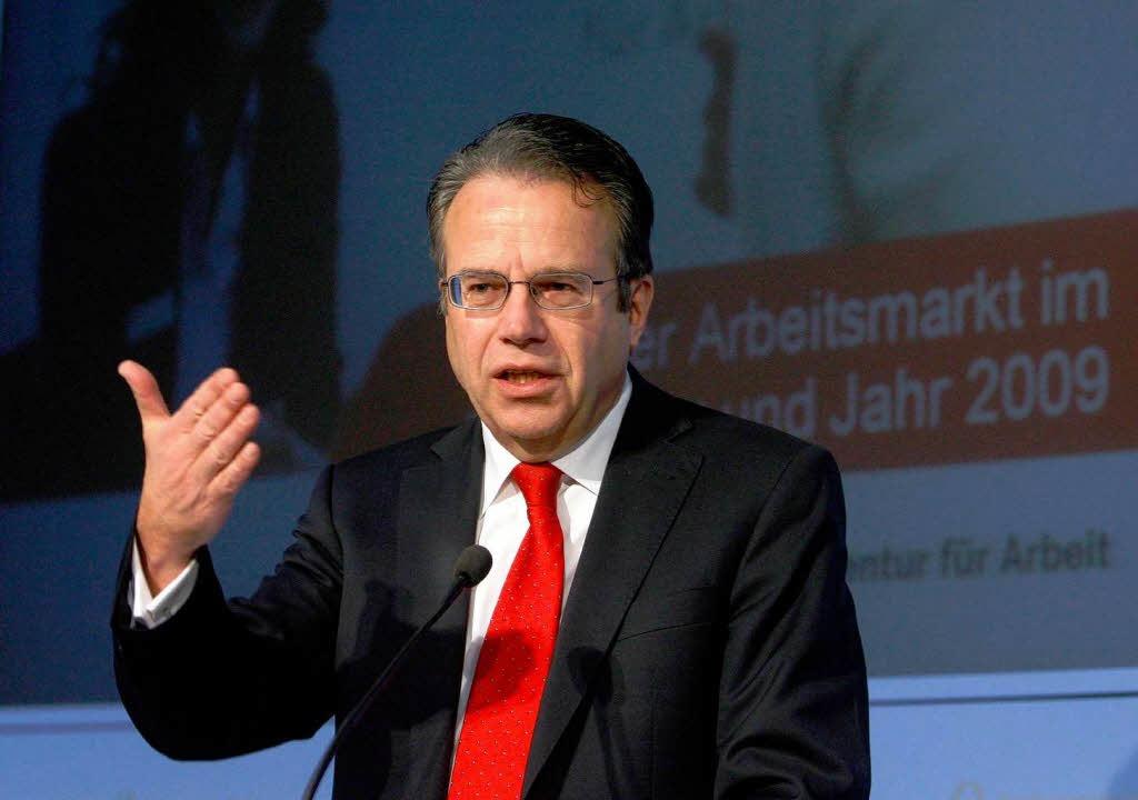 Frank-Jürgen Weise, Vorstandschef der ...m Montag ist er zu Gast in Schmieheim.  | Foto: ddp