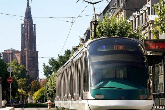 2014 soll Straßburgs Tram bis nach Kehl fahren