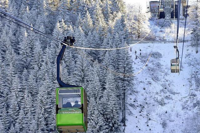 Der Schauinsland, ein Winterwunderland