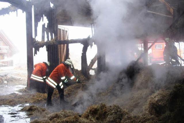 Feuer verursachte erheblichen Sachschaden