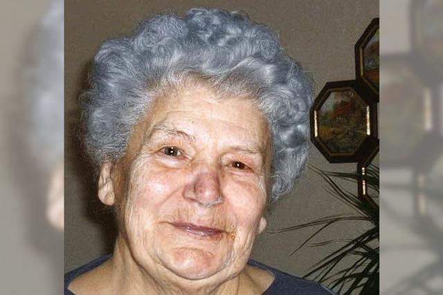 Ruth Linder ist 80 Jahre