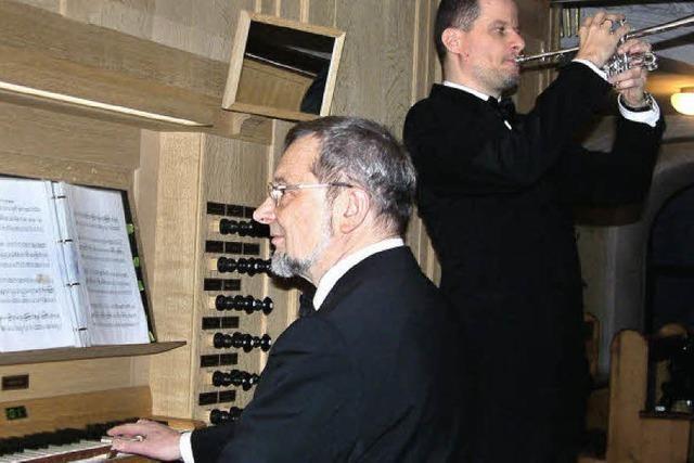 Prunkvoller Klang im Kirchenschiff
