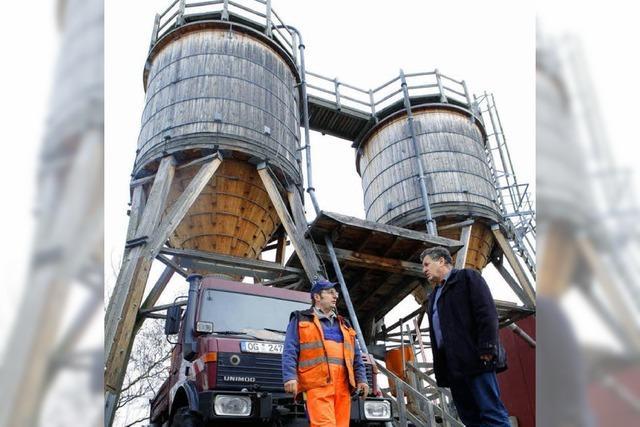 250 Tonnen Salz für den Winterdienst in den Silos