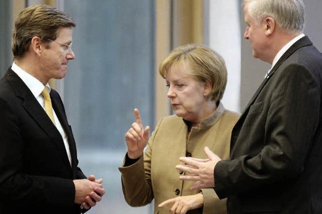 Merkel bittet die Streithähne zu sich