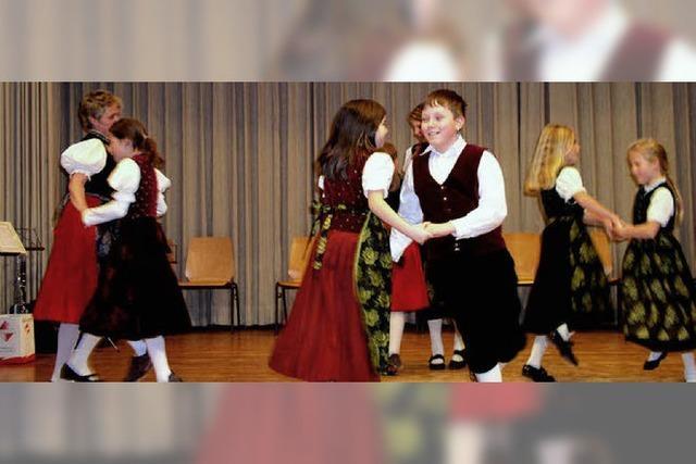 Musik und Tänze für die Senioren