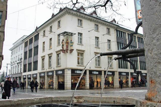 Eine feste Größe der Einkaufsstadt