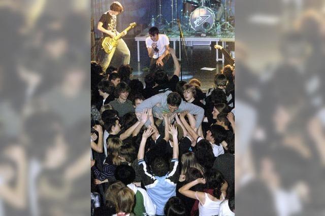 Junge Musiker messen ihr Können