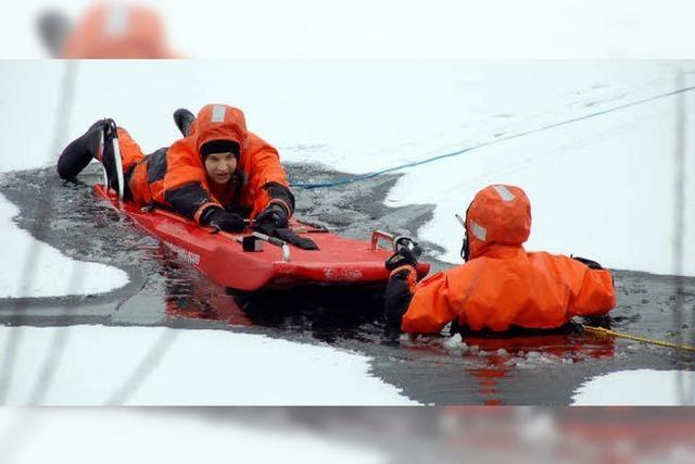 DLRG warnt vor Eisunfällen
