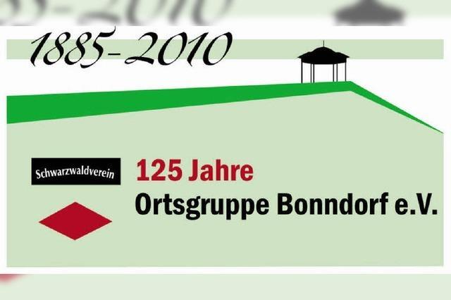 Ortsgruppe Bonndorf feiert Jubiläum