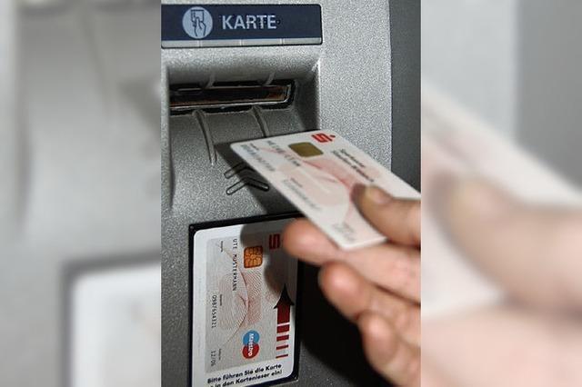 Bisher wenig Beschwerden bei Sparkasse