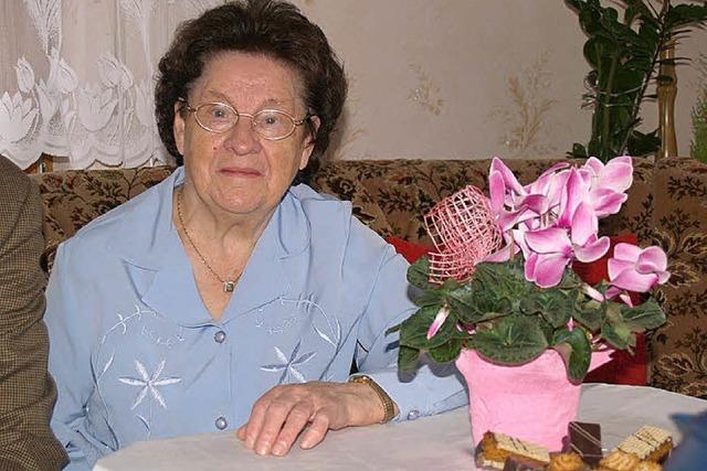 Anastasia Turek wurde 85 Jahre