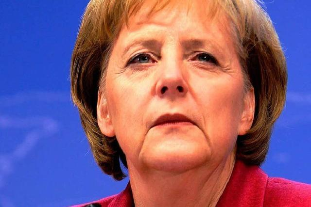 Kritik aus den eigenen Reihen an Merkel